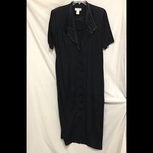 Classic Button-Down Dress